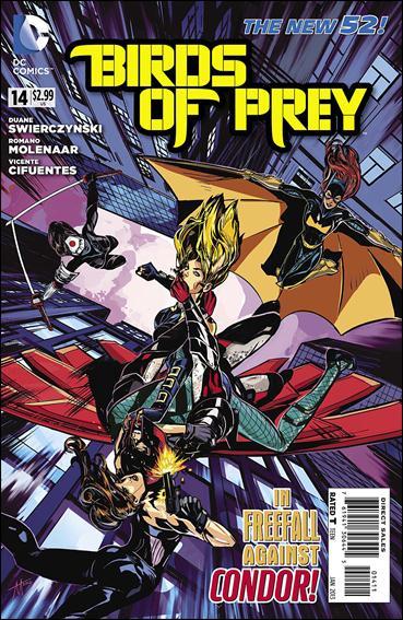 Birds of Prey (2011) 14-A by DC