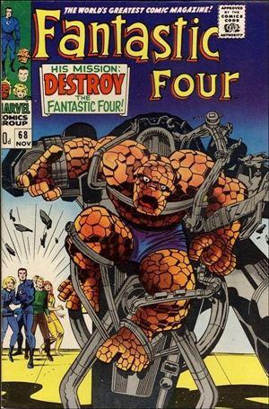 Fantastic Four (1961) 68-B