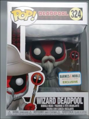 POP! Marvel Wizard Deadpool