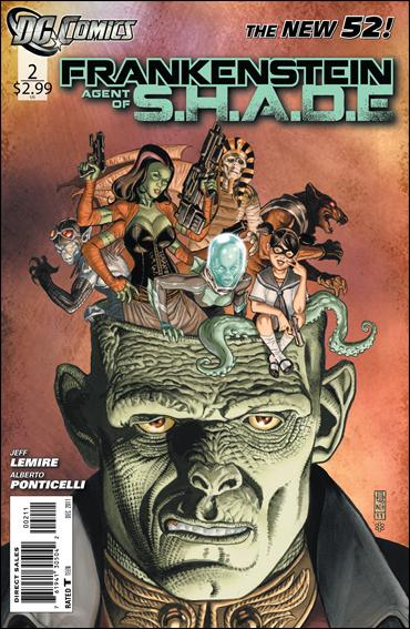 Frankenstein, Agent of S.H.A.D.E. 2-A by DC