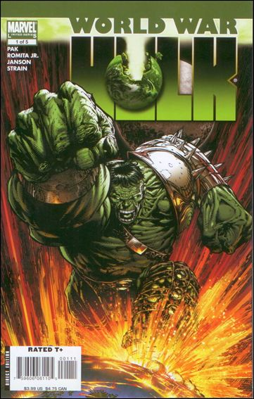 World War Hulk 1-A by Marvel