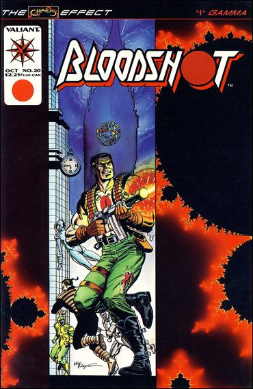 Bloodshot (1993) 20-A by Valiant