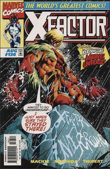 X-Factor (1986) 136-A by Marvel