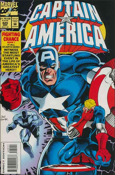 Captain America (1968) 425-A by Marvel