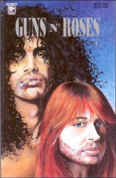 Guns n' Roses 1-A by Celebrity Comics