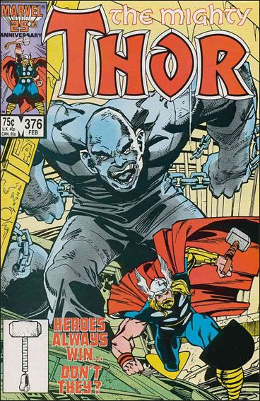 Thor (1966) 376-A by Marvel