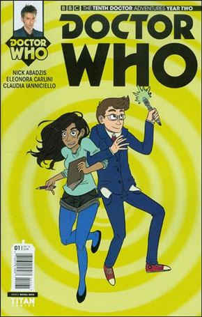 Doctor Who: The Tenth Doctor Year Two 1-E