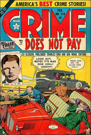 Crime Does Not Pay 119-A by Lev Gleason Productions