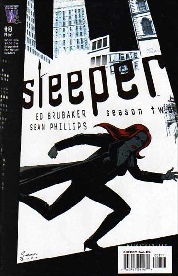 Sleeper: Season Two 8-A by WildStorm