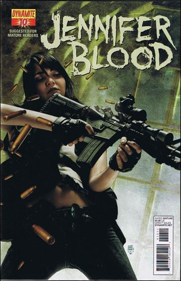 Jennifer Blood 10-A by Dynamite Entertainment
