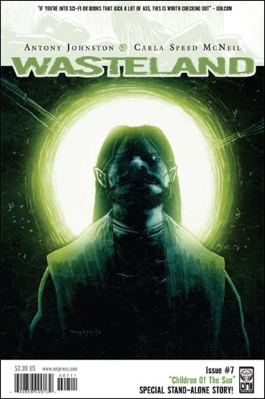 Wasteland (2006) 7-A by Oni Press