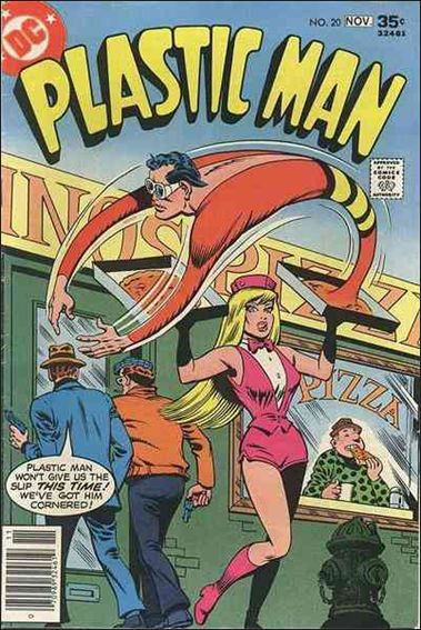 Plastic Man (1966) 20-A by DC