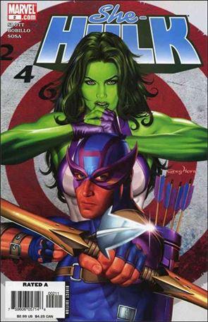 She-Hulk (2005) 2-A