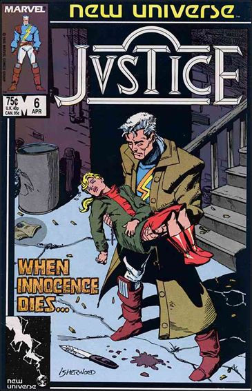 Justice (1986) 6-A by Marvel