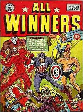 All-Winners Comics (1941) 3-A by Marvel