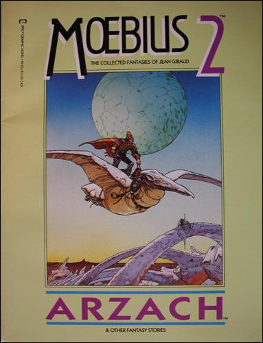 Epic Graphic Novel: Moebius 2-A by Epic