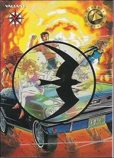 Valiant Era: Series 1 (Base Set) 43-A by Upper Deck