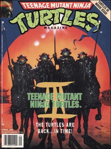 Teenage Mutant Ninja Turtles Magazine 11-A by Welsh Publishing Group