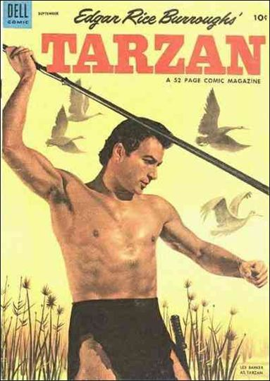 Tarzan (1948) 48-A by Dell