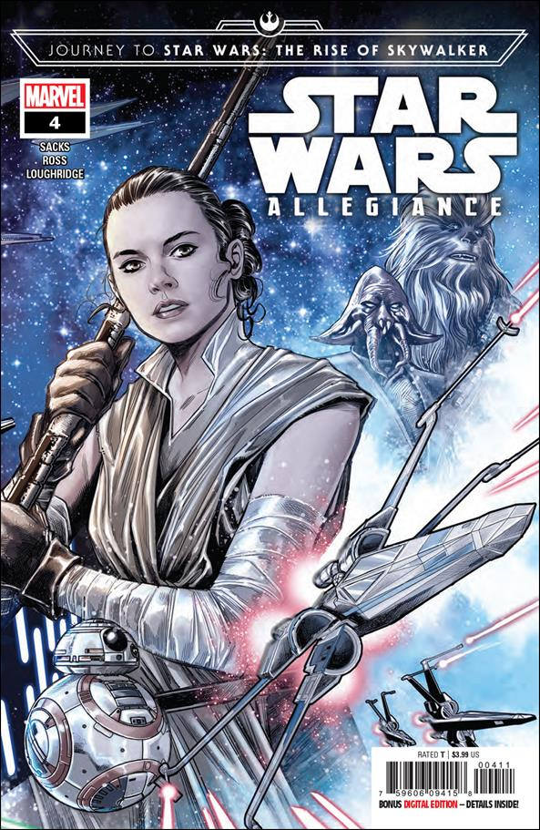 Journey to Star Wars: The Rise of Skywalker - Allegiance 4-A by Marvel