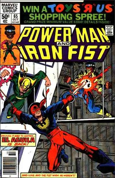 Power Man and Iron Fist (1978) 65-A by Marvel
