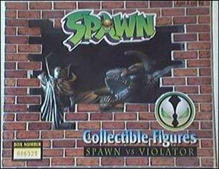 """Spawn: PVC Collecitble Figure 2-Pack """"Pewter"""" PVC 2-pack (1/xxxxx)"""
