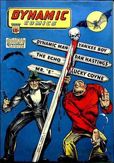 Dynamic Comics (1941) 10-A by Harry A. Chesler