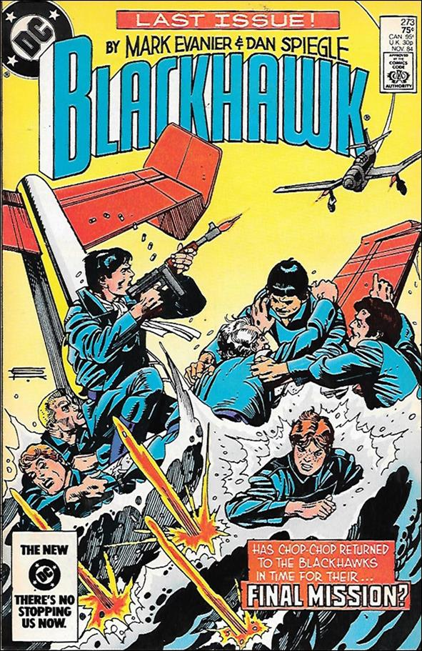 Blackhawk (1944) 273-A by DC