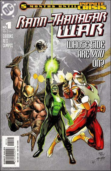 Rann/Thanagar War 1-B by DC