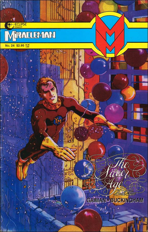 Miracleman (1985) 24-A by Eclipse