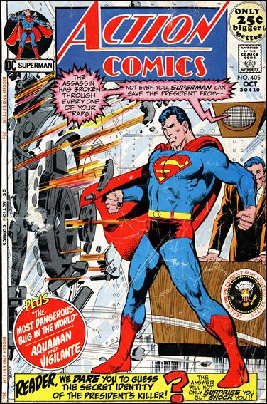 Action Comics (1938) 405-A by DC