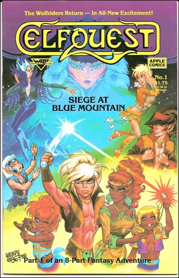 Elfquest: Siege at Blue Mountain 1-A by Apple