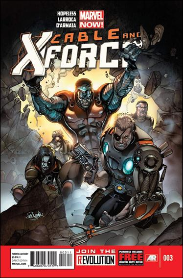 Cable and X-Force 3-A by Marvel