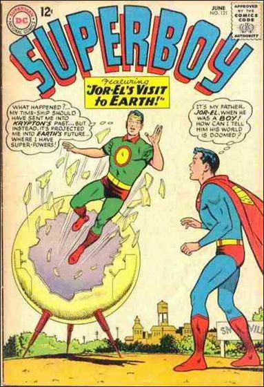 Superboy (1949) 121-A by DC
