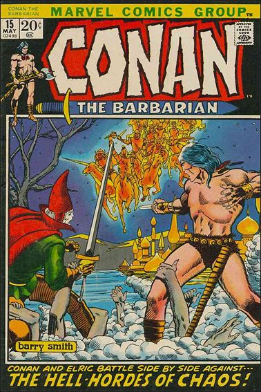 Conan the Barbarian (1970) 15-A by Marvel