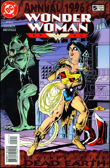 Wonder Woman Annual  5-A by DC