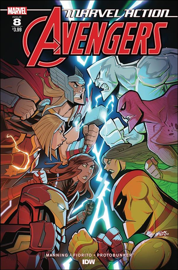 Marvel Action: Avengers 8-A by IDW