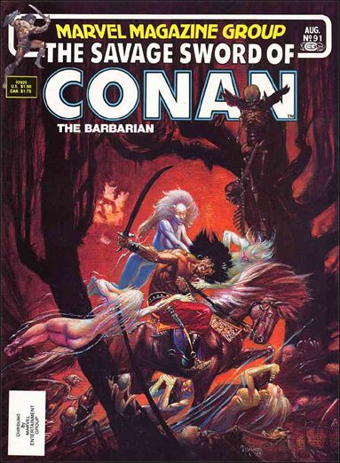 Savage Sword of Conan (1974) 91-A by Marvel