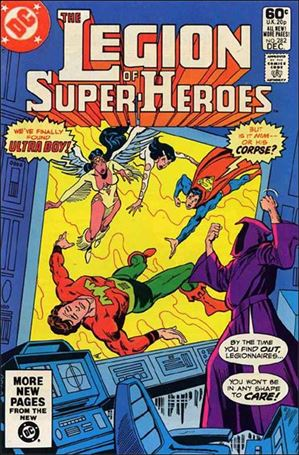 Legion of Super-Heroes (1980) 282-A