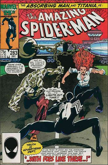 Amazing Spider-Man (1963) 283-A by Marvel