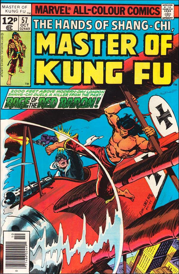 Master of Kung Fu 57-C by Marvel