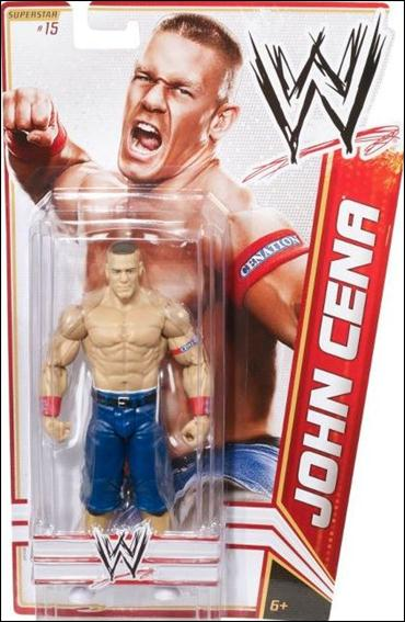 WWE Superstars (2012) John Cean by Mattel
