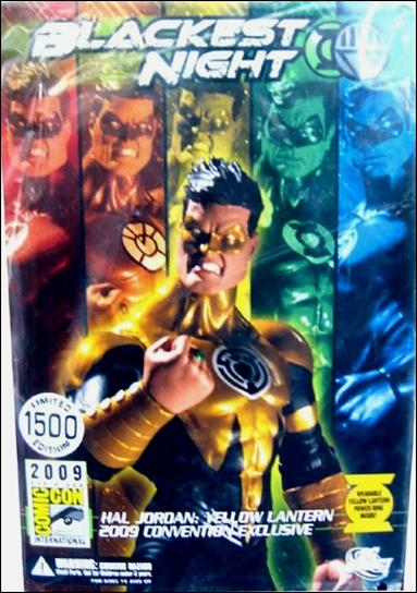 Blackest Night (Exclusives) Hal Jordan: Yellow Lantern 1/1500 by DC Direct