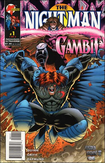 Night Man/Gambit 1-A by Malibu