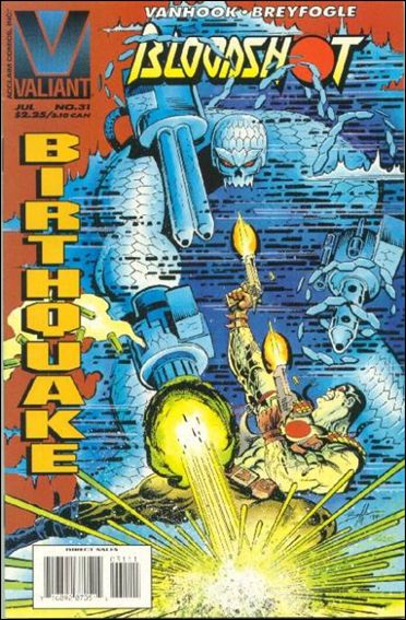 Bloodshot (1993) 31-A by Valiant