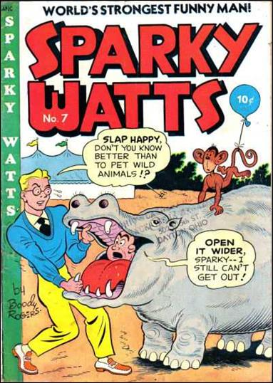 Sparky Watts 7-A by Publication Enterprises