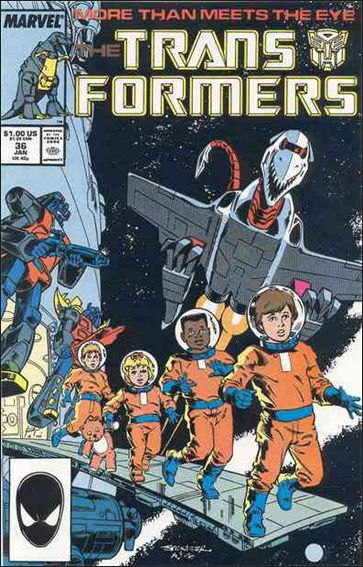 Transformers (1984) 36-A by Marvel