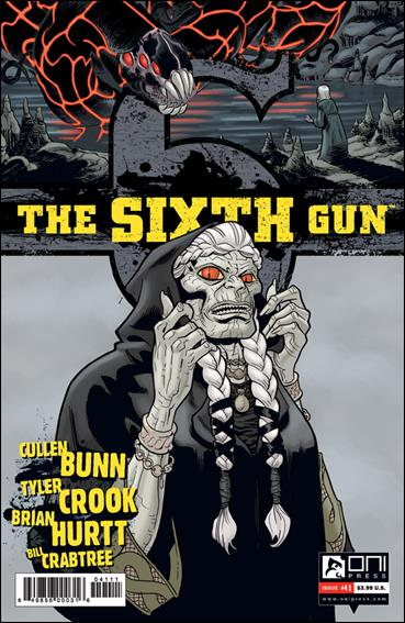 Sixth Gun 41-A by Oni Press