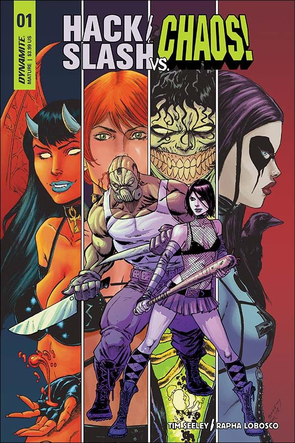 Hack/Slash vs Chaos 1-A by Dynamite Entertainment