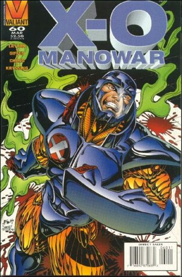 X-O Manowar (1992) 60-A by Valiant